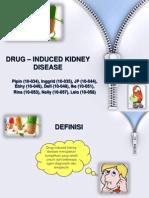 DRUG – INDUCED KIDNEY DISEASE