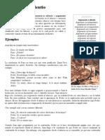 Argumento a Silentio - Wikipedia, La Enciclopedia Libre