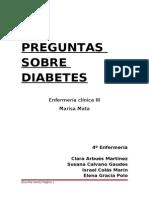 Preguntas Diabetes 2