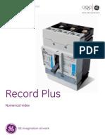 Record Plus - Numerical Index