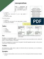 Argumento Ad Consequentiam - Wikipedia, La Enciclopedia Libre
