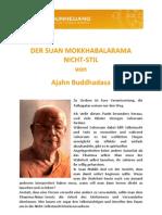Ajahn Buddhadasa - Suan Mokh Nicht Stil