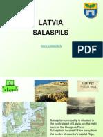 welcome to latvia - salaspils