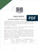 Public Notice Phase 8 Statistics