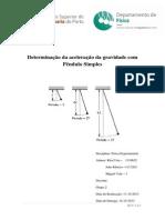 Determinação da aceleração da gravidade com Pêndulo Simples.docx