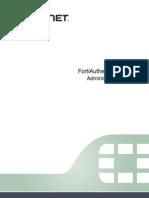 FortiAuthenticator v3.0 Administration Guide