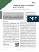 J Fontana Et Al (Adv. Optical Mater 2013 1 100 ) Au Np