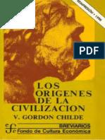 Childe Los Origenes de La Civilizacion