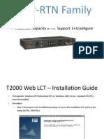 TX Operational Manual-huawei Rtn