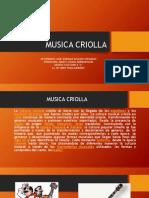 Musica Criolla