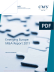 Emerging Europe_ M&a Report 2011, A Joint Study by CMS and DealWatch
