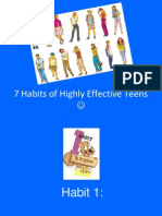 7 Habits of a Highly Effective Teens 