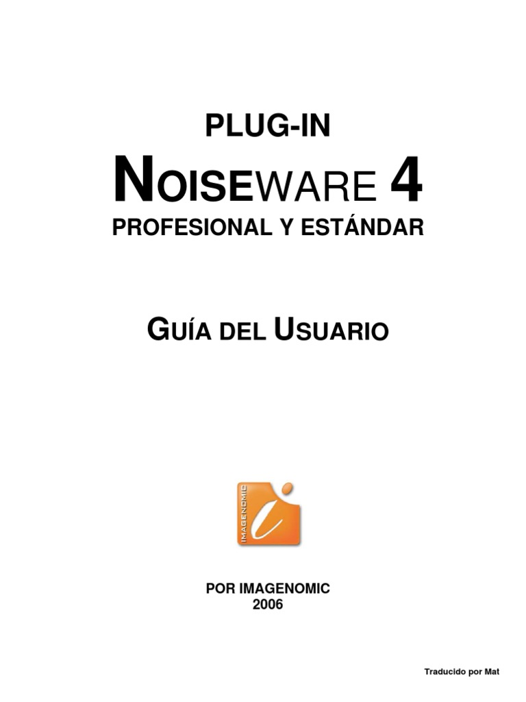 Manual Noiseware Español