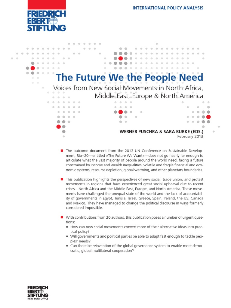The Future We The People Need: Voices from New Social Movements in ...