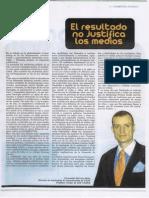 Fernando Herrero-Nieto. El Resultado no justifica los Medios