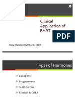 Clinical Application of Bio-Identical Hormone Replacement Therapy