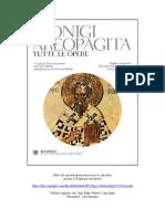 Dionigi Areopagita - Tutte Le Opere Bompiani