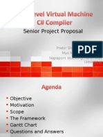 Low Level Virtual Machine C# Compiler Senior Project Proposal Presentation (ppt)