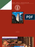 Stanford University Mba