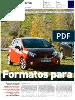 """RENAULT CLIO SPORT TOURER 1.5 dCi 90 FRENTE AO FORD B-MAX 1.6 TDCI E NISSAN NOTE 1.5 dCi 90 NA """"AUTO FOCO"""""""