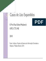 05 Modelagem de Interacao - Casos de Uso Expandidos