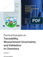 Practical Examples on Traceablity, Measurement Uncertainty and Validation in Chemistry; Vol 1 by Nineta Majcen & Philip Taylor