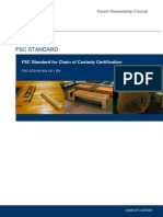 FSC-STD-40-004 V2-1 en Chain of Custody Certification