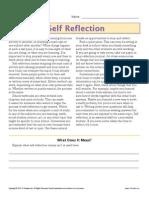 gr6 self reflection
