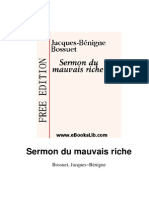 Bossuet-Sermon Du Mauvais Riche