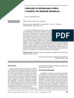 Alteracoes Met Lipidico e Sindrome Met Diogo