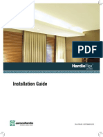 HardieFlex Ceilings Installation Manual