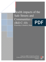 Health Impacts of Bill C-10