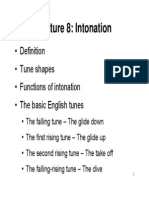Intonation Slide