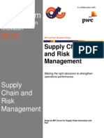 c MIT Forum Supply Chain Risk Management Report 2013
