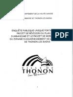 Rapport Projet Revision Plu