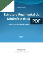 Estrutura Regimental Ms Decreto 7336