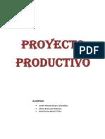 Proyecto Productivo Mariela 4