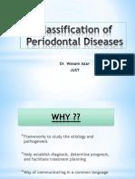 Classfication of Periodontal Examination Charting