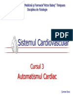 Automatismul Cardiac