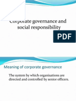 ACCA F1/ CAT FAB - Chapter 7 Corporate Governance and Corporate Social Responsibility