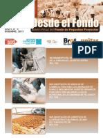 """Boletín electrónico """"Desde el Fondo"""" Nº 4. Diciembre de 2013"""