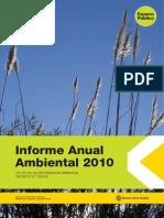 Informe Anual Ambiental 2010