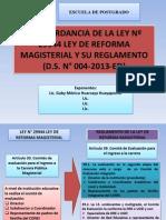 ANÁLISIS DE LA LEY Nº 29944 LEY DE