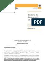plan de estudios de la educacion de mexico guia de estudios