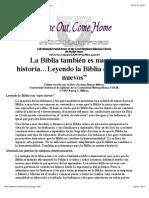 La Biblia Tambin Es La Historia de Las Lesbianas y Los Gays.