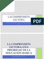 LACOMPRENSIÓN LECTORA