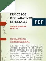 PROCESOS DECLARATIVOS ESPECIALES