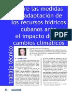 Sobre Las Medidas de Adaptacion de Los Recursos Hidricos Cubanos Ante El Impacto Del C.C. (Jorge Garcia)