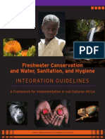 Freshwater Conservation and WASH Integration Guidelines
