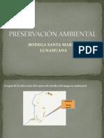 PRESERVACIÓN AMBIENTA